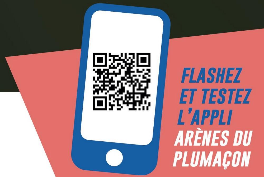 image : Flashez et testez lappli Arènes du Plumaçon - Mont de Marsan