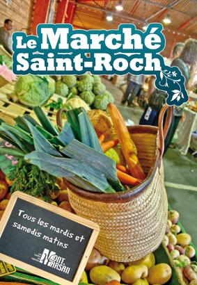 image : Affiche Marché Saint Roch