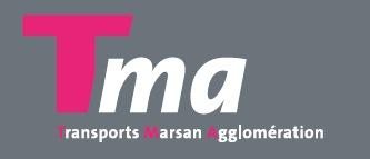 image-lien : Visuel Transports Marsan Agglomération et lien vers site internet