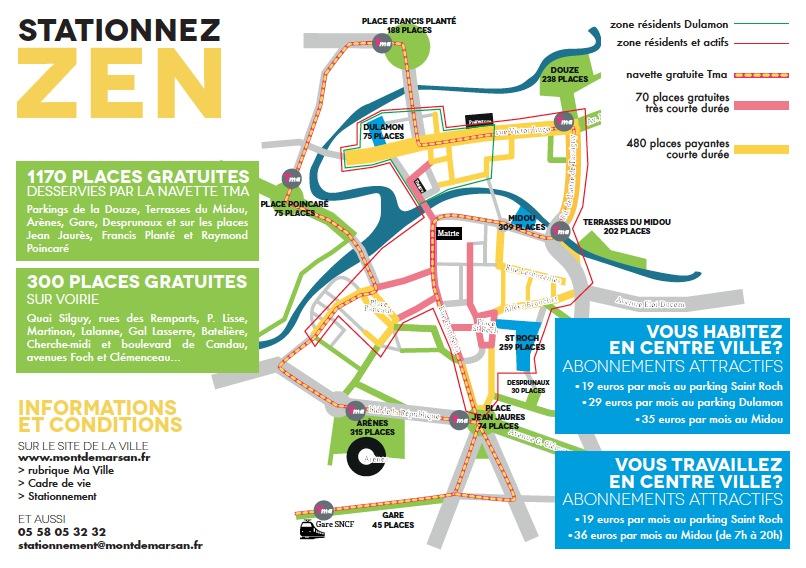 image : Carte stationnement pour les travailleurs et résidents du centre ville