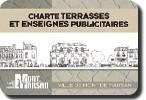 image-lien : charte terrasses et enseignes publicitaires
