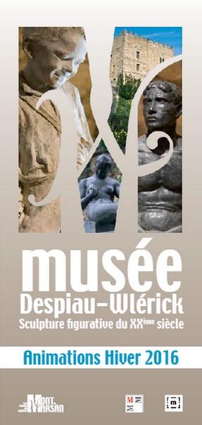 image : Couverture programme animations musée Despiau-Wlérick