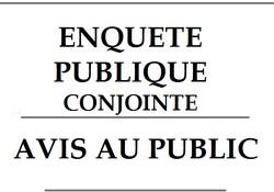 image : visuel enquête publique