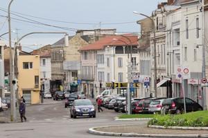 image : vue de la rue Sadi Carnot - Mont de Marsan