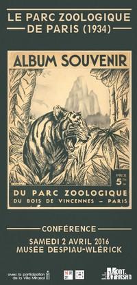 image : visuel conférence Parc zoologique Paris - Musée Mont de Marsan