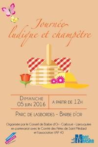 image : affiche journée champêtre - Conseils de quartier - Mont de Marsan