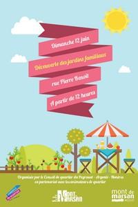 image : affiche journée jardins familiaux - Mont de Marsan