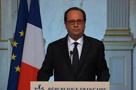 image : vue de François Hollande - AFP TF1