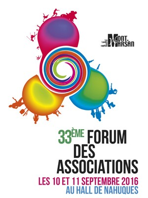 affiche du forum des association