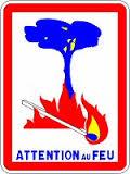 image : alerte risque incendie