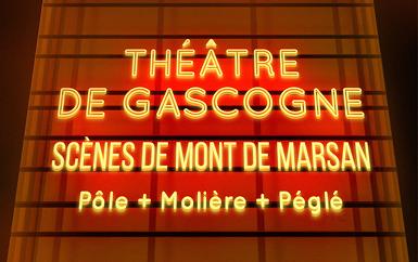 image : Visuel site internet Théâtre de Gascogne