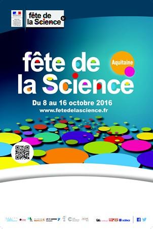 image : Affiche fête de la Science 2016