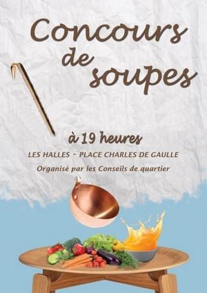image : Affiche concours de soupe - Conseils de quartier - Mont de Marsan