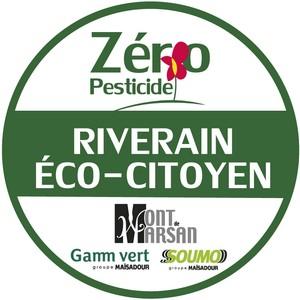 image : autocollant Zéro Pesticides - Mont de Marsan
