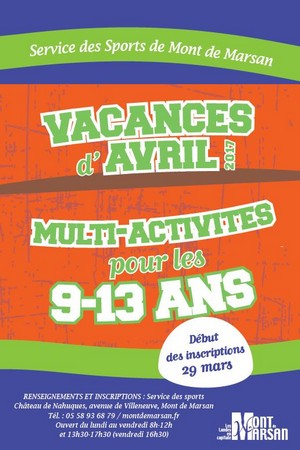 image : visuel Passs...Sport montois - avril 2017