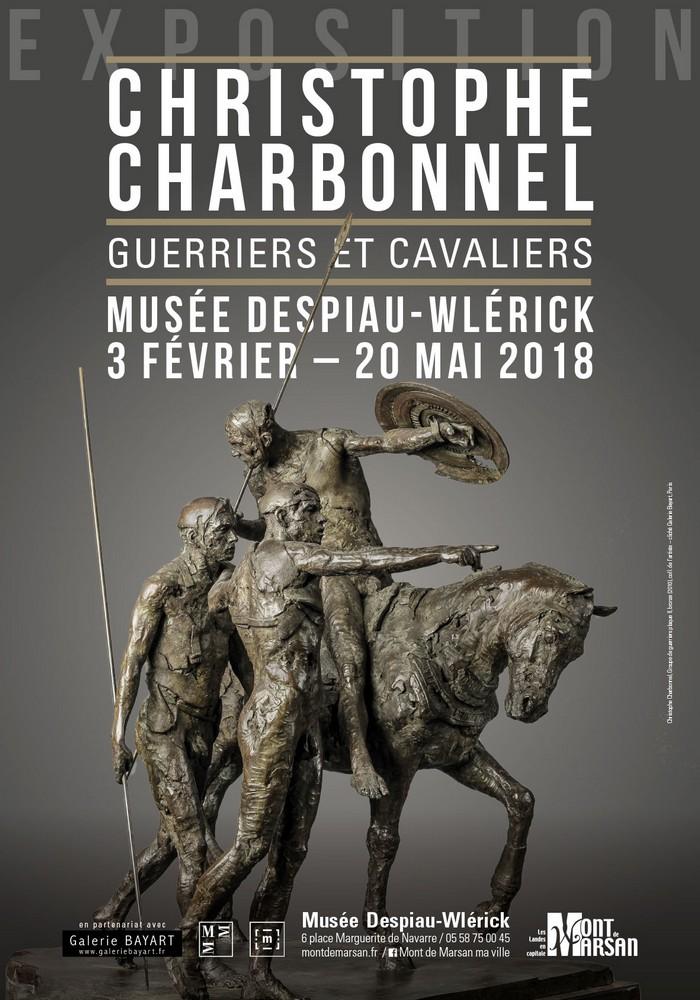 image : Affiche Expo Christophe Charbonnel 2 fev-20 mai 2018 - Mont de Marsan