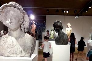 image : Vue du musée Despiau Wlérick - Mont de Marsan