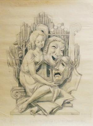 image : œuvre Armande Marty - Musée Despiau Wlérick