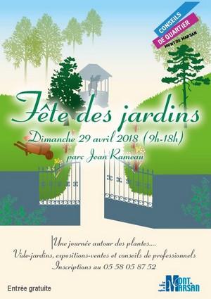 image : Affiche fête des jardins