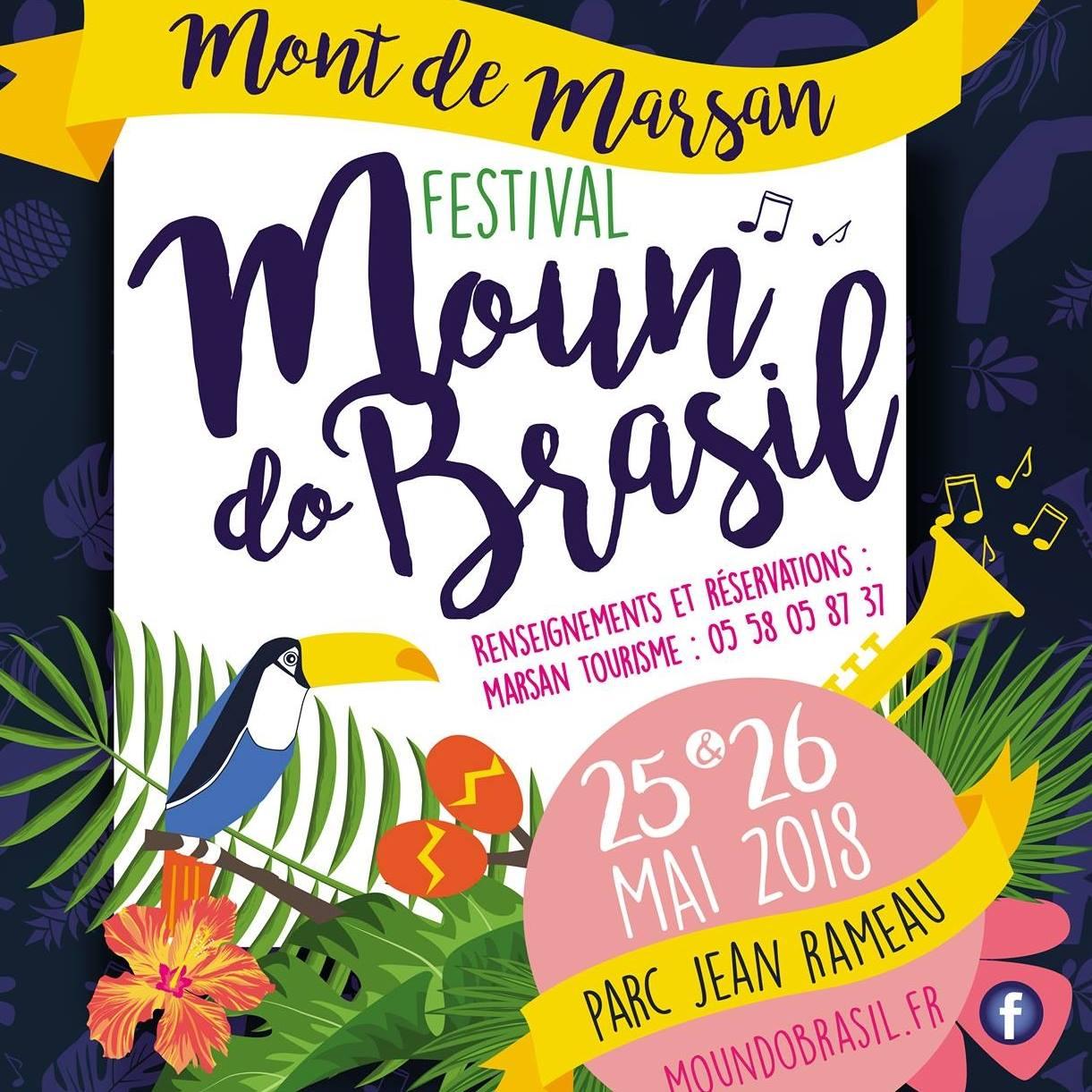 image : Affiche Moun do Brasil