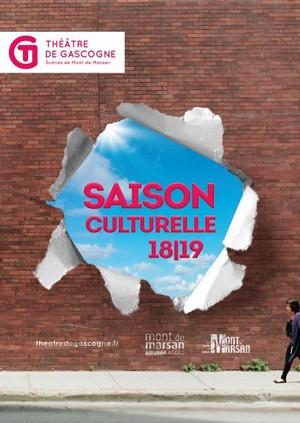 image : Visuel Saison culturelle du Marsan 2018-2019