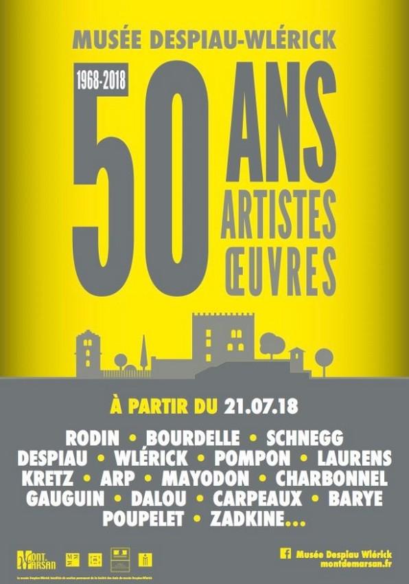 image : Le musée fête ses 50 ans - Musée Despiau Wlérick - Mont de Marsan