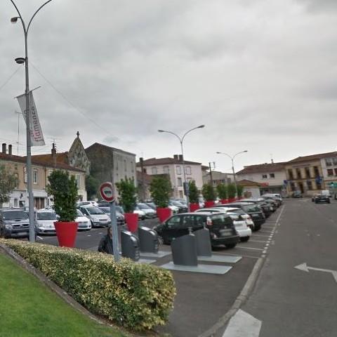 image : Place Pancaut - Mont de Marsan