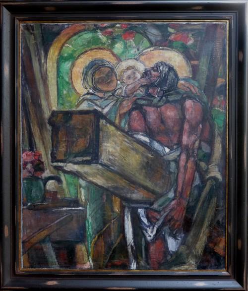 image : La Sainte Famille - George Desvallières - Musée Despiau-Wlérick - Mont de Marsan