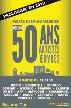 image : Le musée fête ses 50 ans prolongation 2019 - Musée Despiau Wlérick - Mont de Marsan