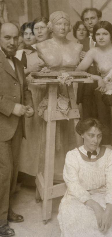 image : Transmission - Transgression maîtres et élèves dans latelier - Musée Despiau-Wlérick - Mont de Marsan