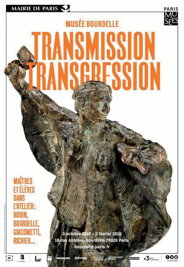 image : Musée Bourdelle Paris - Transmission Transgression - Mont de Marsan