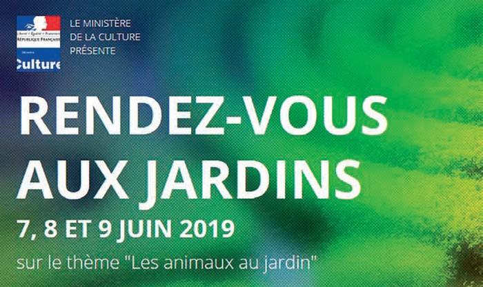 image : Visuel Rendez-vous aux jardins 7-8-9 juin 2019 - Mont de Marsan