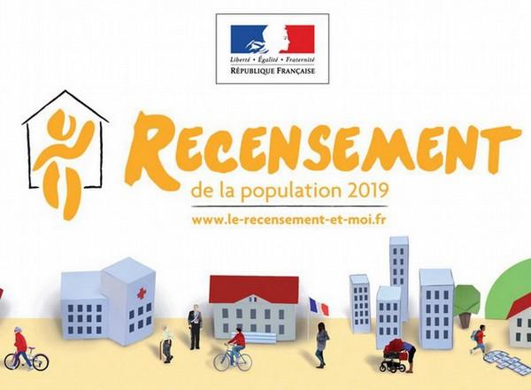 image : Visuel Recensement 2019 - Mont de Marsan
