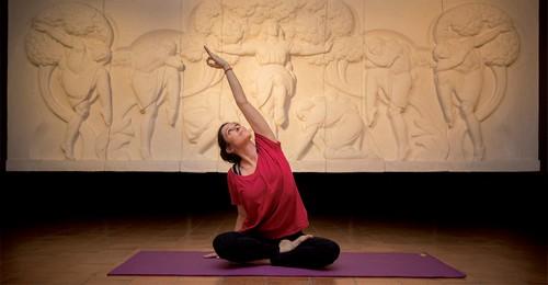 image : Yoga au Musee Despiau Wlérick - Mont de Marsan