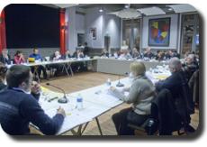 photo : séance du conseil municipal de Mont de Marsan