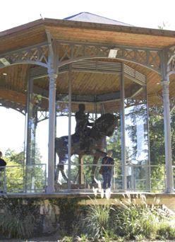 image : Statue équestre du Maréchal Foch Parc Jean Rameau - Musée Despiau-Wlérick - Mont de Marsan