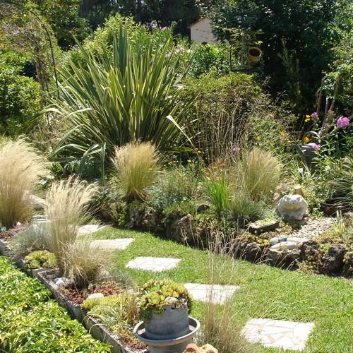 image : Vue du jardin de Daniele L. - Concours des jardins fleuris Mont de Marsan