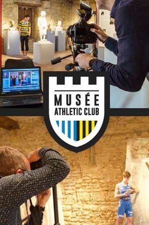 image : Couverture invitation Musée Athletic club 2019 - Musée Despiau Wlérick Mont de Marsan