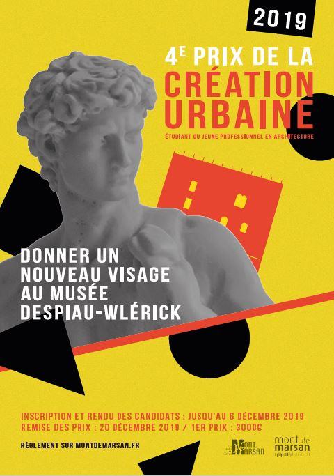 image : Affiche prix de la création urbaine