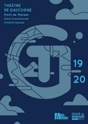 image : couverture de la brochure - saison culturelle 2019-2020 - Théâtre de Gascogne