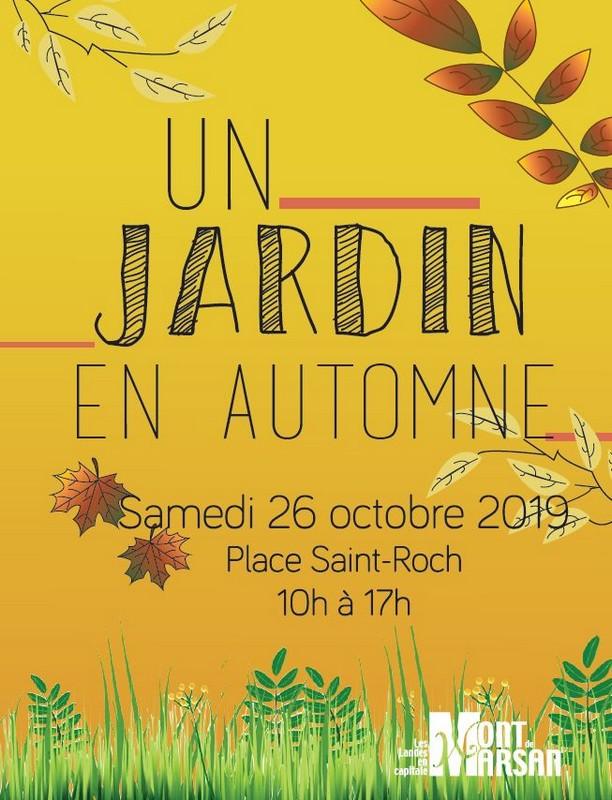 image : Affiche Un jardin dautomne 26 octobre - Mont de Marsan