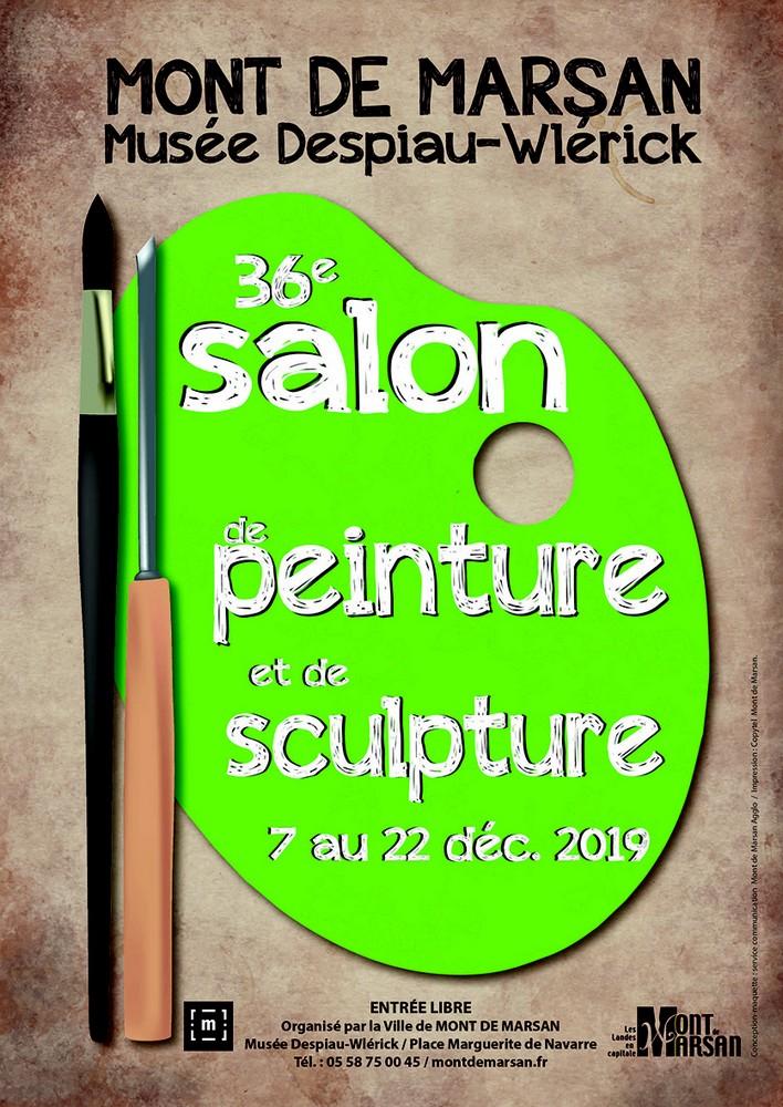 image : Salon de peinture du 7 au 22 décembre 2019 - Musée Mont de Marsan