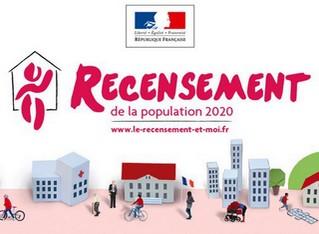 image : Visuel Recensement 2020 - Mont de Marsan