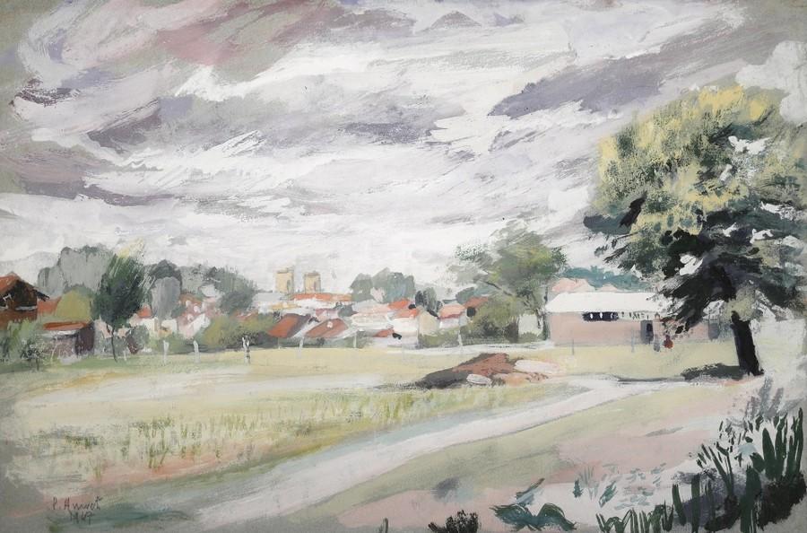 image : Peinture de Paul Arrivets - Musée Despiau Wlérick
