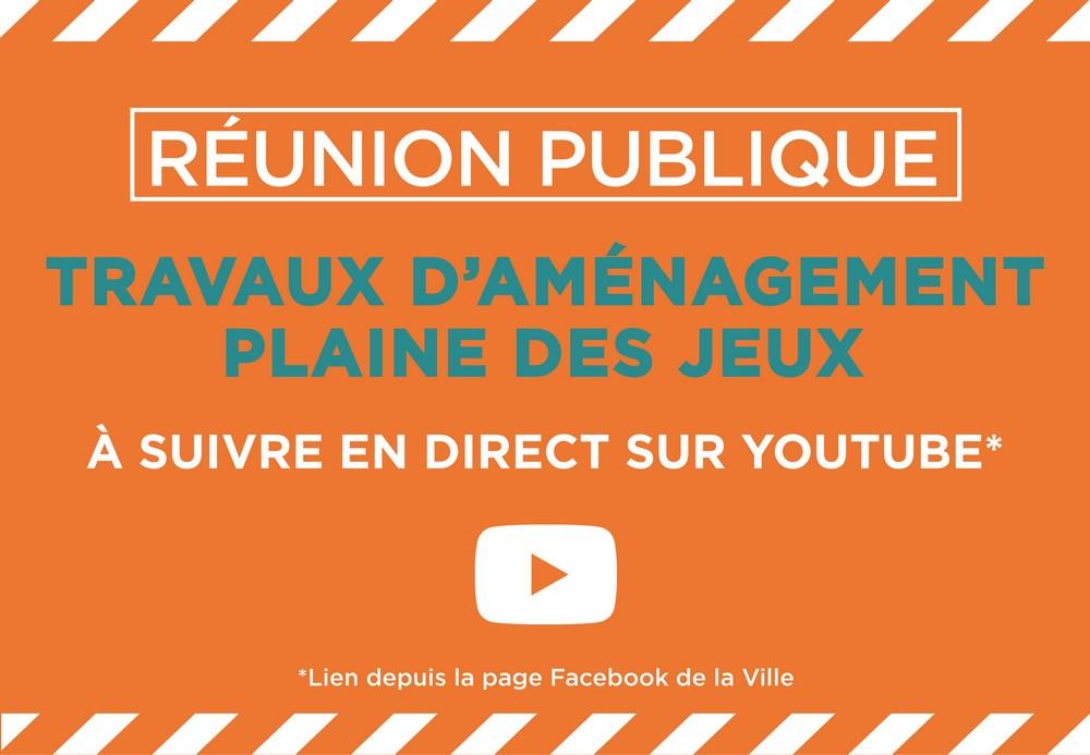 iimage : Réunion publique - Travaux aménagement Plaine des jeux 29 sept. - Mont de Marsan Agglo