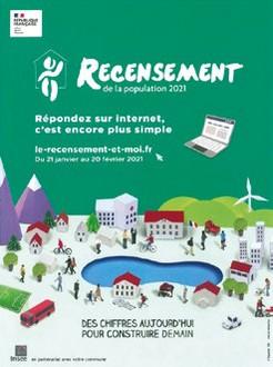 image : Visuel Recensement 2021 - Mont de Marsan
