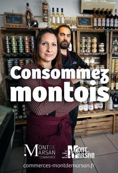 image : Affiche Consommez montois - Mont de Marsan