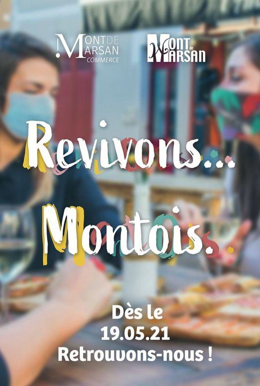 image : Affiche Revivons Montois - Mont de Marsan