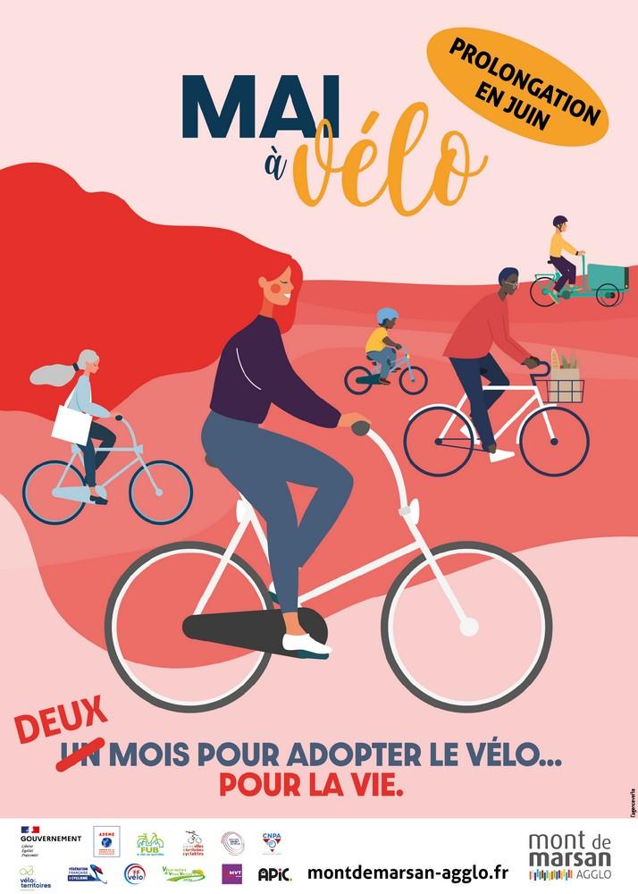 image : Mai et Juin à vélo - Mont de Marsan