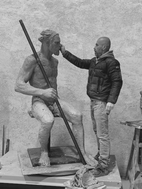 image : Sculpture de Christophe Charbonel - Musée Despiau Wlérick Mont de Marsan